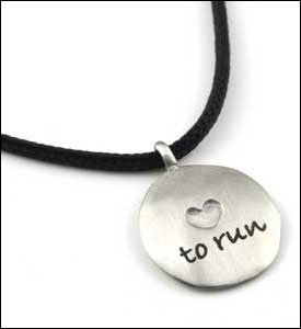 Love to Run Pendant
